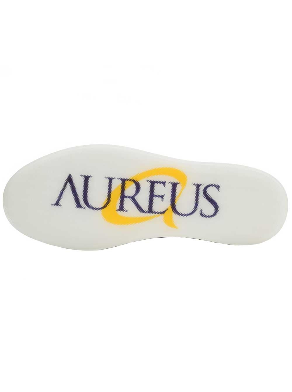 Aureus Men's Henson Polished Cognac Loafers 11 M US