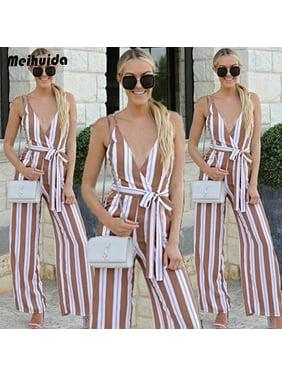 7525c8e3719a6 Product Image Women Clubwear Playsuit Bodycon Party Jumpsuit Romper Trousers  Casual Long Pants