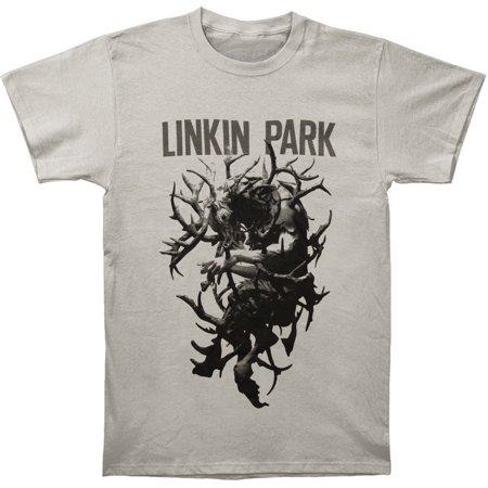 e25344c5 Linkin Park - Linkin Park Men's Antlers Tee T-shirt Grey - Walmart.com
