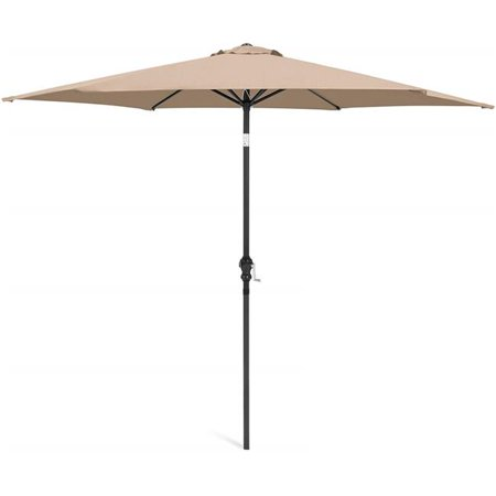 March Products 245794 7 ft. Steel Market Umbrella, Beige - image 1 de 1