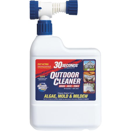 30 seconds Outdoor Cleaner Algae, Mold & Mildew Stain -