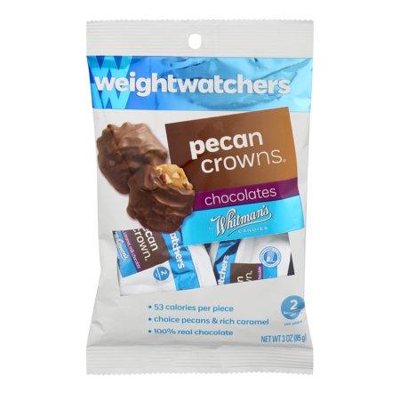 Weight Watchers  Pecans   Caramel Pecan Crowns  3 Oz