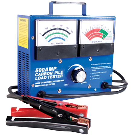 Battery Tester Carbon Pile 500 Amp (500 Amp Carbon Pile Load)