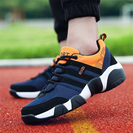 Men's Sports Shoes Breathable Sneakers Casual Shoes Athletic Running Shoes ()