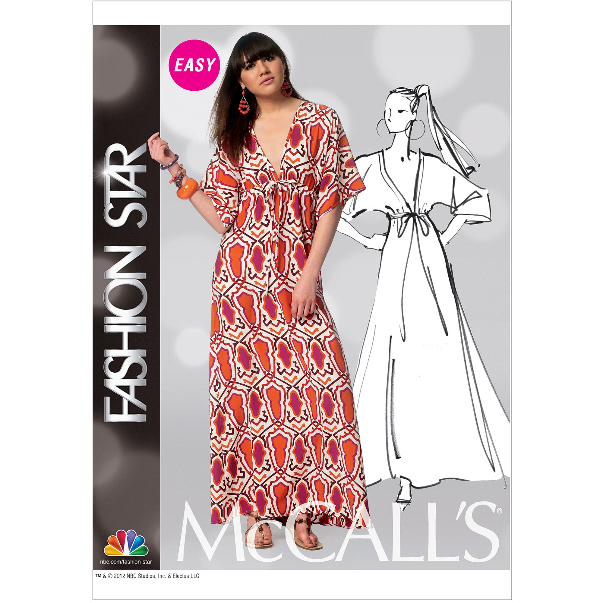 McCall's Pattern Misses' Dress, XY (S, M, L)