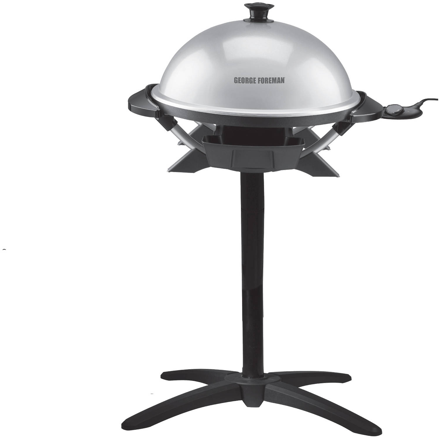 Good George Foreman 200 Cu In Indoor / Outdoor Electric Grill, GFO200S    Walmart.com