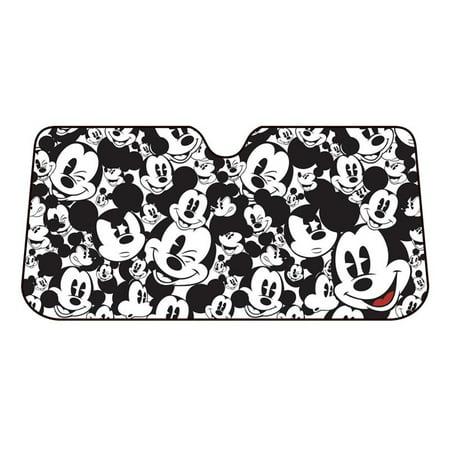 Mickey Mouse Car Sun Shade UV Protector Shield Auto Front Window Windshield  NEW - Walmart.com c4446f94304