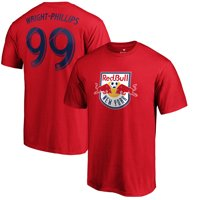 Bradley Wright-Phillips New York Red Bulls Fanatics Branded Name & Number T-Shirt - Red