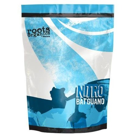 Nitro Bat Guano Fertilizer, 3-Pound, An excellent source of nitrogen, phosphorus, and calcium By Roots Organics (Fertilizer Root Growth)