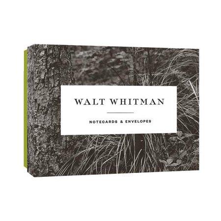Walt Whitman Notecards (Walt Whitman By The Bivouacs Fitful Flame)