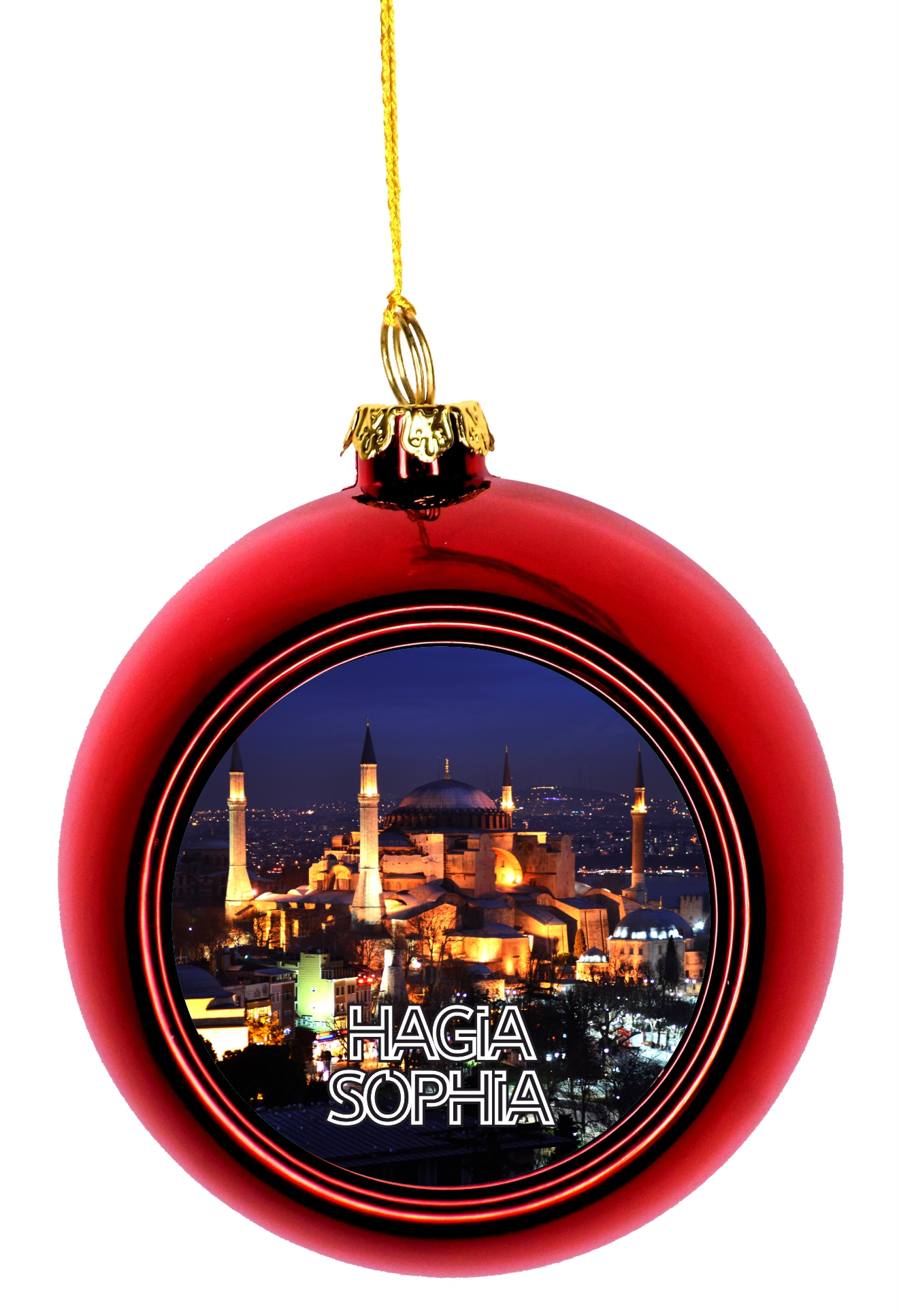 Christmas Ornaments Travel Turkey Istanbul Hagia Sophia ...
