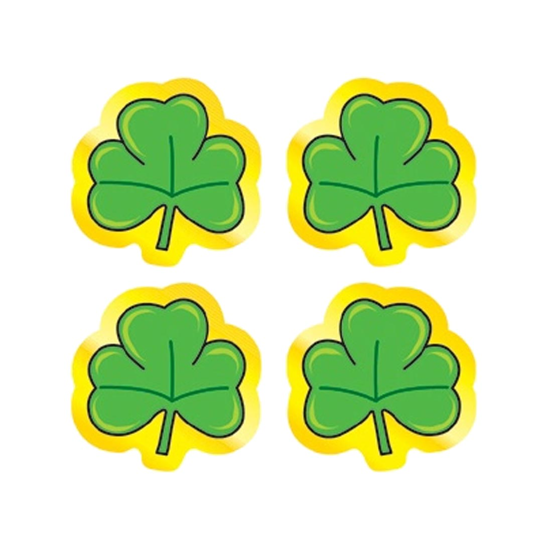 Shamrocks Shape Stickers by Carson-Dellosa