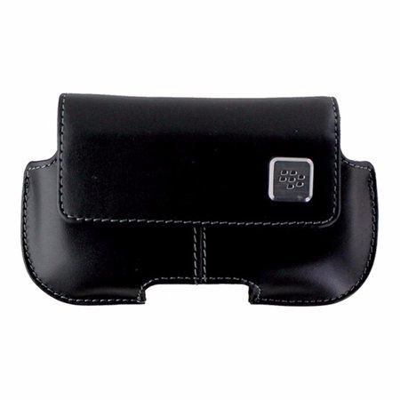 - BlackBerry Horizontal Leather Case for BlackBerry Curve 8520 / 9330 - Black