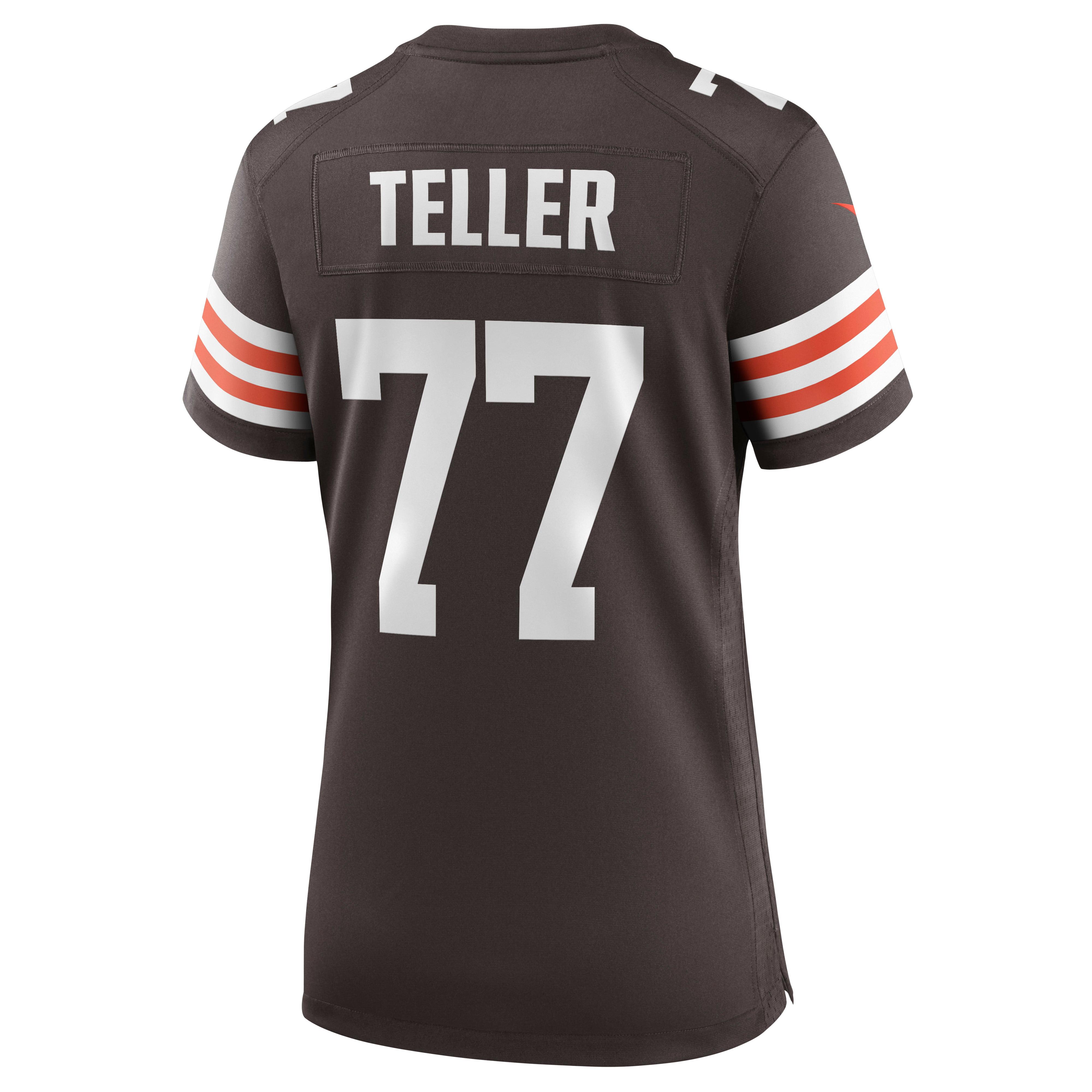 Wyatt Teller Cleveland Browns Nike Women's Game Jersey - Brown