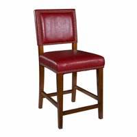 Linon Brook Counter Stool, 24 inch Seat Height, Multiple Colors