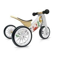 Kinderfeets TinyTot MakiiWooden Balance Bike and Tricycle in 1! ages 12-24 months.