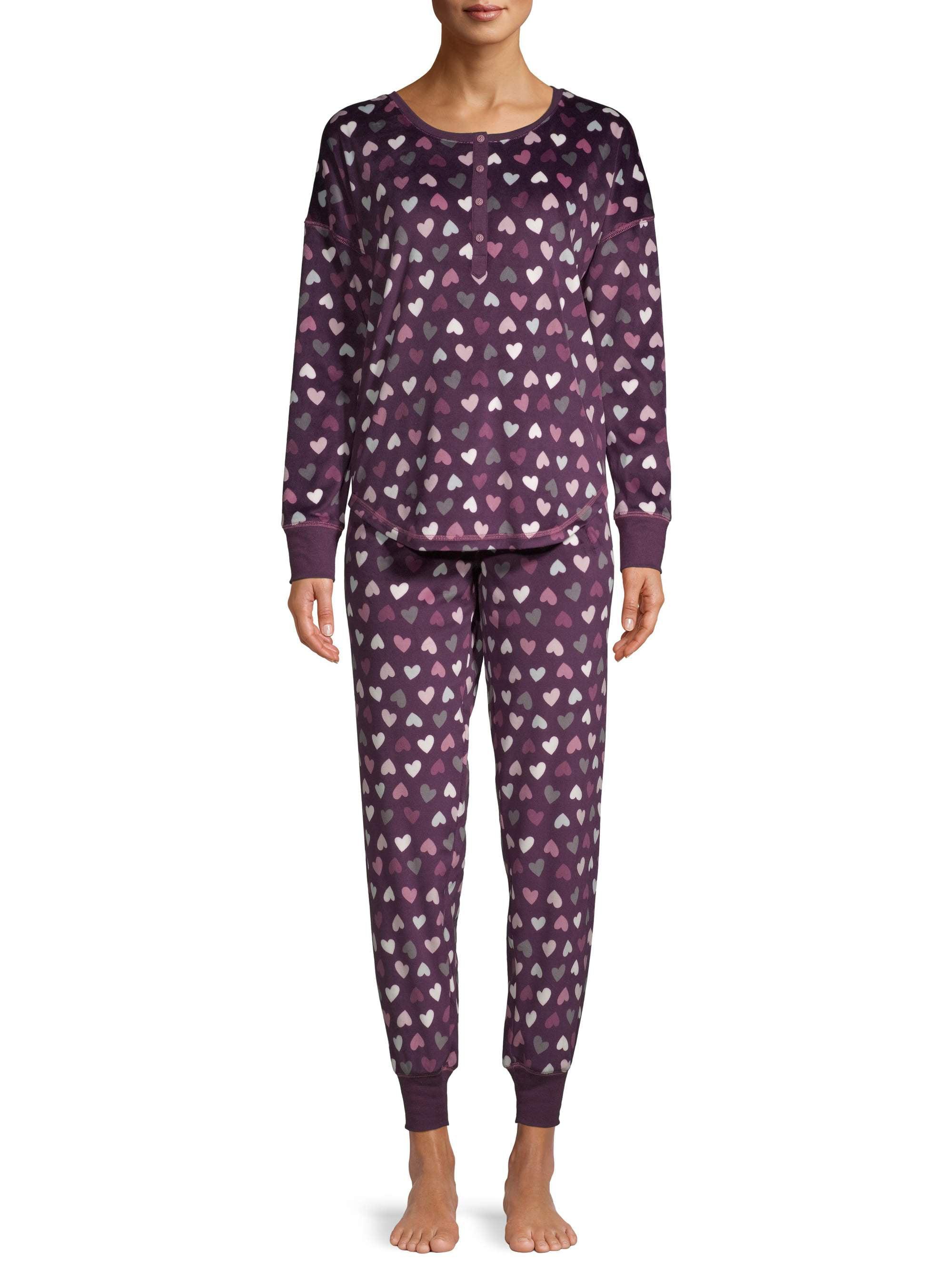 Pillow Talk Women/'s Pink Paris Cotton Pajamas