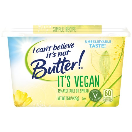 I Can't Believe It's Not Butter Vegan Spread