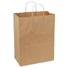 BAG SHOPPING HANDLE KRAFT 65LB