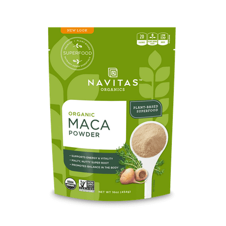 Navitas Organics Maca Powder, 1.0 Lb, 90 Servings