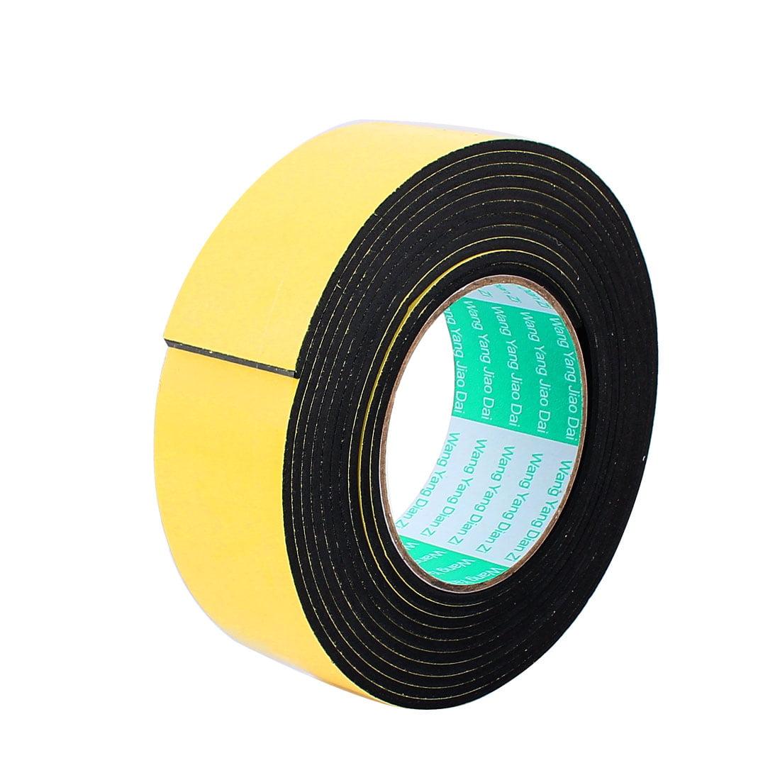 4.5CM Width 4M Length 3MM Thick Single-side Sealing Shockproof Sponge Tape