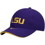 LSU Tigers Nike Youth Team Sideline Performance Adjustable Hat - Purple - OSFA
