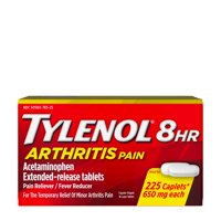 Tylenol 8 Hour Arthritis Pain Tablets with Acetaminophen, 225 ct