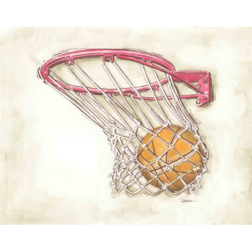 Renditions by Reesa Basketball Wall Plaque