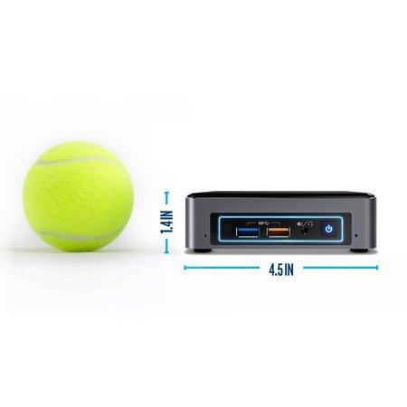 Intel Nuc Nuc7i5bnk Ordinateur de bureau - Intel Core I5 ??(7e génération) I5-7260u 2.20 Ghz DDR4 Sdram - Mini - image 1 de 2