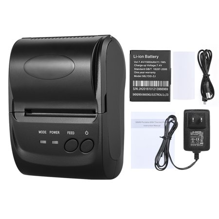 POS-5802DD Mini Portable Wireless USB Thermal Printer Receipt Ticket POS Printing for iOS Android Windows