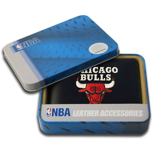 NBA - Men's Chicago Bulls Embroidered Billfold Wallet