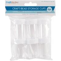 Bead Storage Screw-Top Cups .7oz 6/Pkg