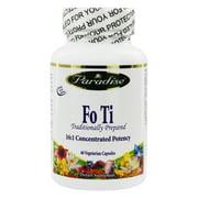 Paradise Herbs - Fo Ti - 60 Vegetarian Capsules