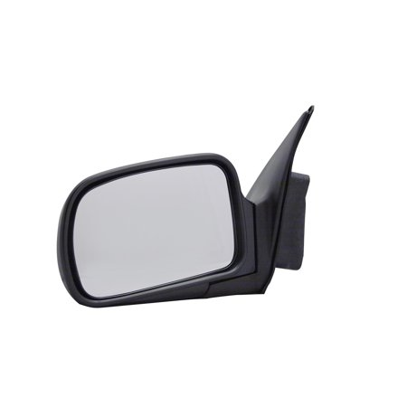 For Mercury Villager Black Manual Replacement Driver Side Mirror (DT7019410-1L00) Black Driver Side Replacement