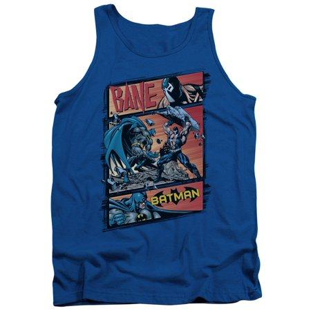 Batman DC Comics Bane Epic Battle Adult Tank Top Shirt (Bane 90s Batman)