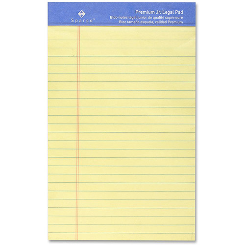 Sparco Premium-grade Ruled Writing Pads