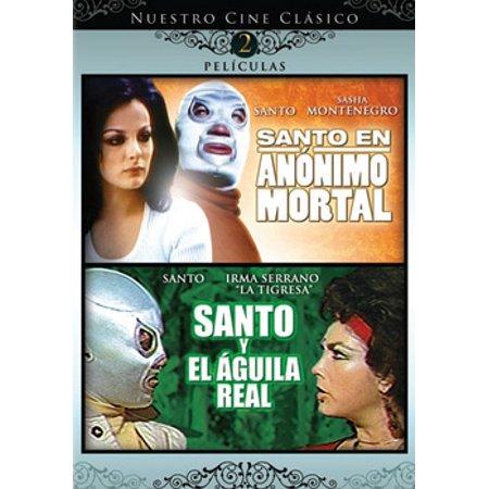 Santo En Anonimo Mortal / Santo Y El Aguila Real (DVD) - Fantasmas Reales En Halloween