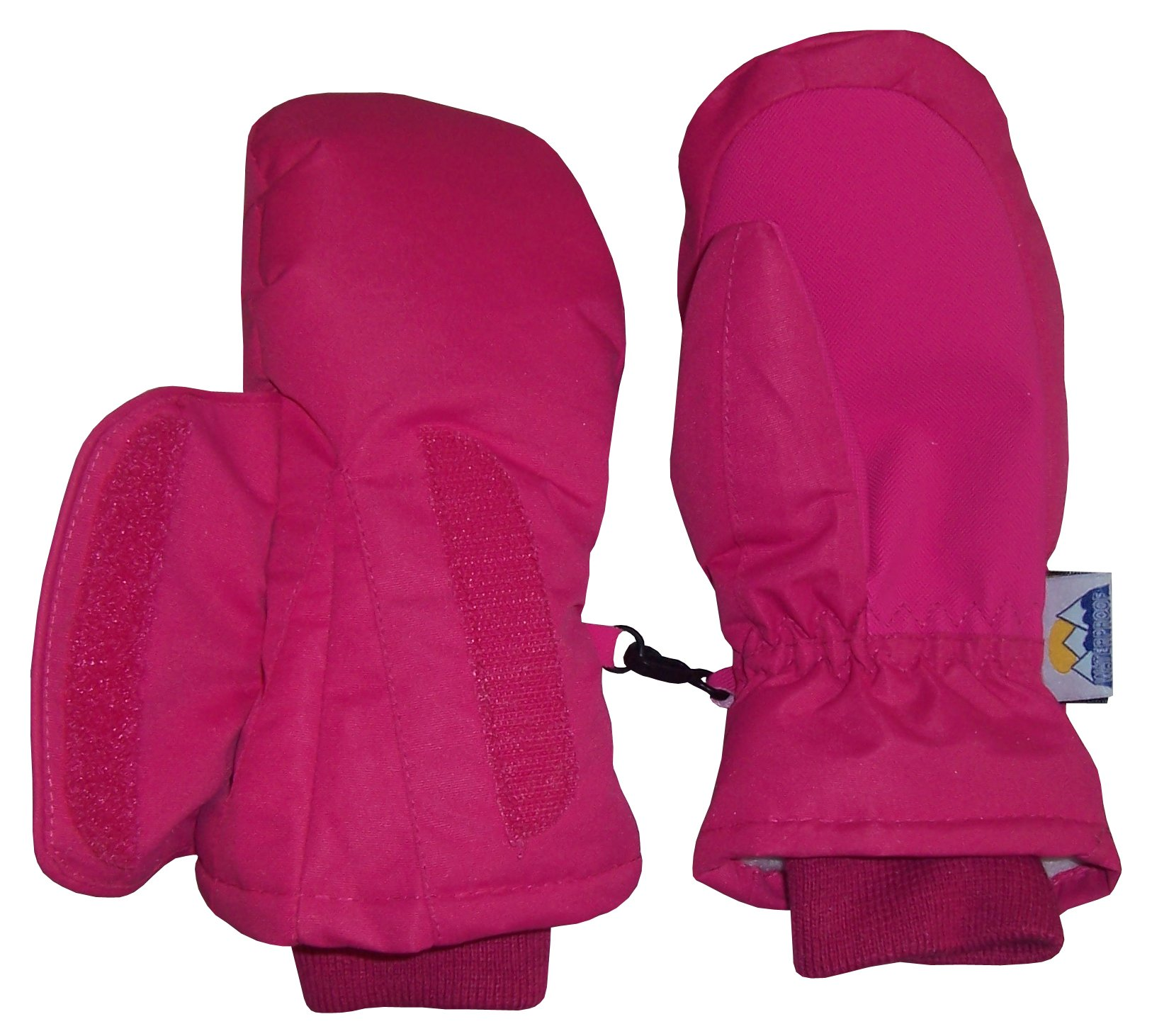 NIce Caps Kids Easy-On Wrap Elbow Length Winter Waterproof Thinsulate Mittens