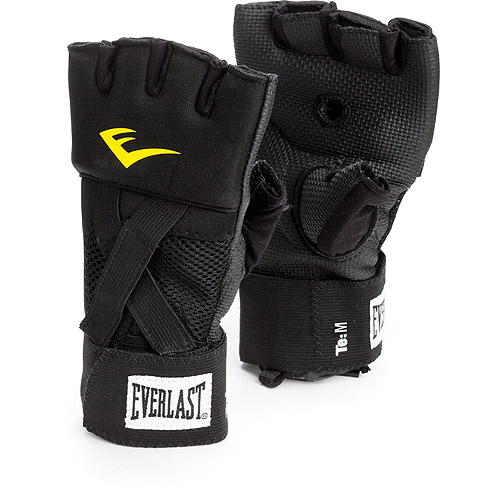 Everlast EverGel Handwraps - Black/Yellow