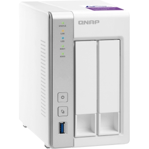 QNAP TS-231P 2-bay Personal Cloud NAS with DLNA