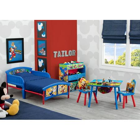 43ea91fd7 Disney Mickey Mouse Multi-Bin Toy Organizer by Delta Children - Walmart.com
