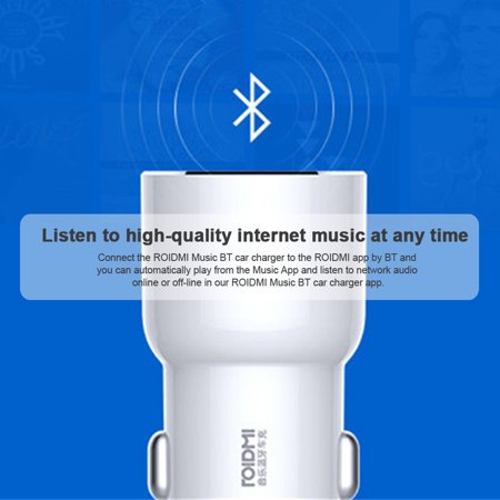 Xiaomi ROIDMI 3S 5V 3.4A Car Music Player Smart APP for Android Smart Control MP3 Player - image 5 of 6
