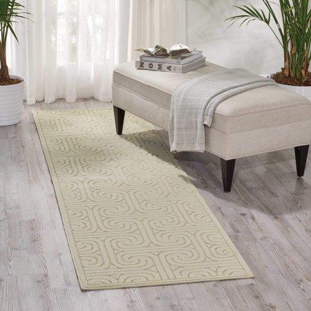 Nourison Kelly Ripa Home Interlock Ivory Area Rug By