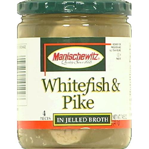 Fish Pike & White Jel 14. 5 OZ -Pack Of 6