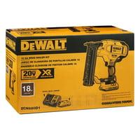 DeWALT DCN680D1 20V MAX* XR 18 GA Cordless Brad Nailer Kit, (New)
