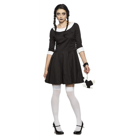 49f7d9358d Women s Gothic Wednesday Costume - Walmart.com