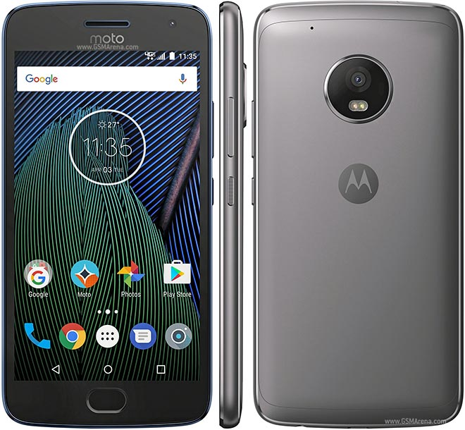 Motorola Moto G Plus (5th Generation) - 32 GB - Unlocked (Lunar Gray) (Certified Refurbished)