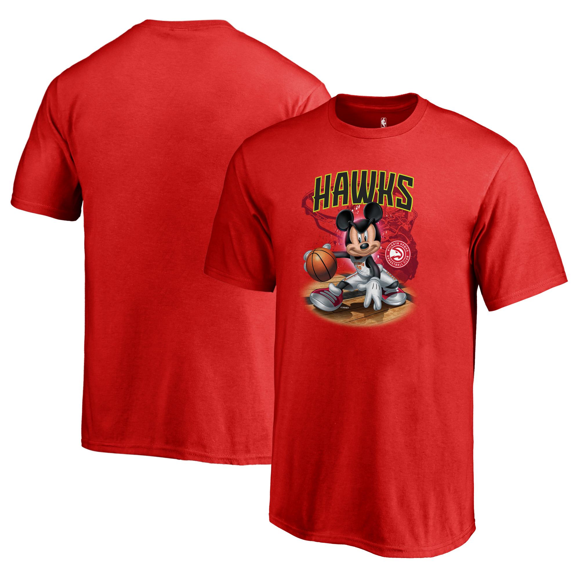 Atlanta Hawks Fanatics Branded Youth Disney NBA All-Star T-Shirt - Red