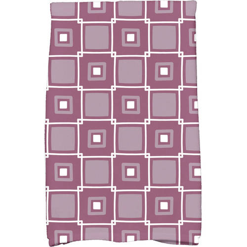 "Simply Daisy 16"" x 25"" Square Pop Geometric Print Kitchen Towel by E By Design"