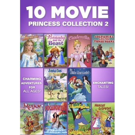 10 MOVIE PRINCESS COLLECTION 2 (DVD/2 DISC/FF) (DVD)